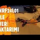 NRF24L01 WIRELESS DATA TRANSFER