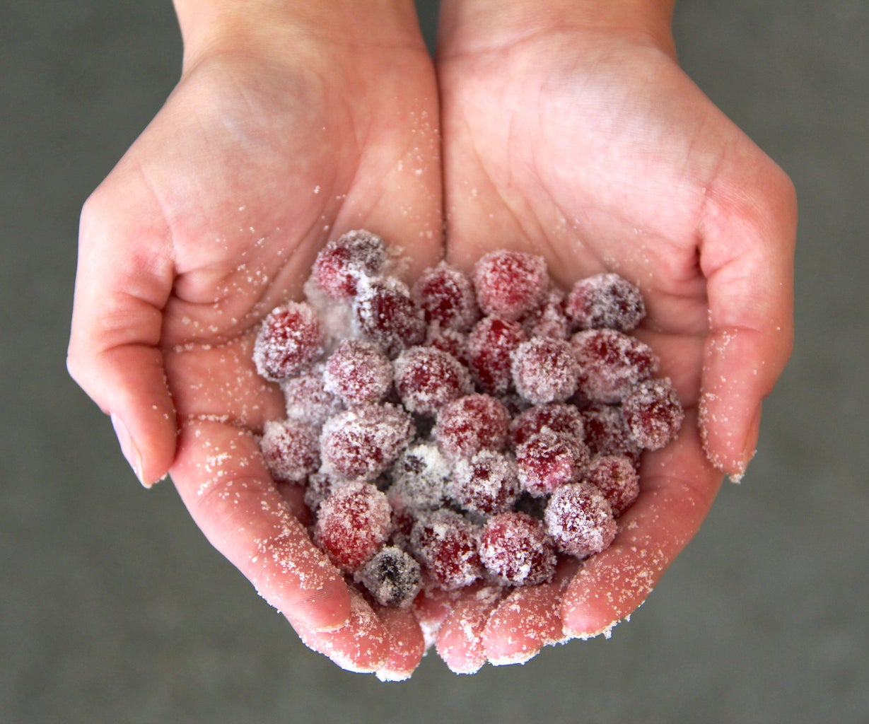 Coat the Berries With Sugar