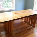Live Edge Dining Table (MAPLE)