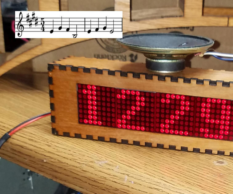 WiFi Connected Clock With Westminster Chimes