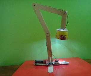 Joule Thief Powered Lamp