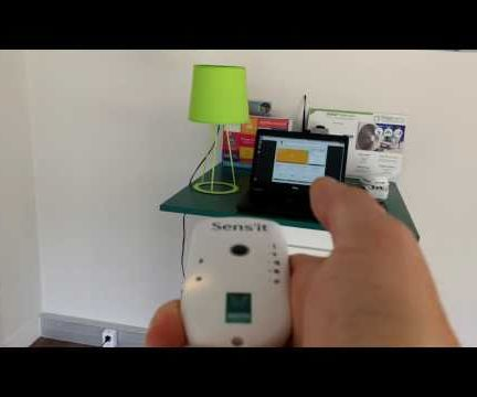 Lights automation with a Sens'it and a smart plug
