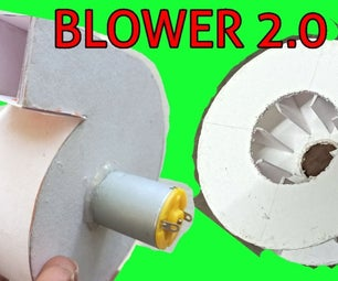 Air Blower 2.0 Using PAPER