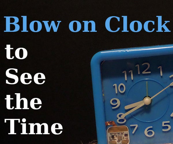 Sound Activated Light for the Clock