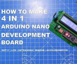 How to Make 4-in-1 Arduino Nano Development Board