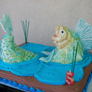 How to Make a Bass Fish Cake