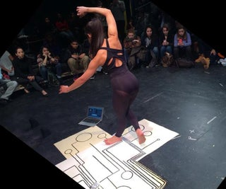 Embodying Chemistry: Paint an Interactive Dance Pad