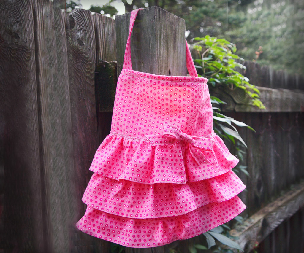 DIY Ruffled Purse in One Hour