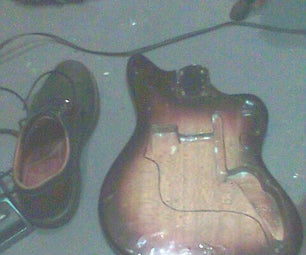 Resurrection of a 60`s Woolworths Teisco Audition Electric Guitar