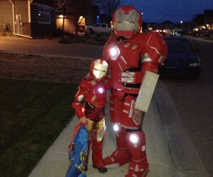 Hulkbuster and Ironman
