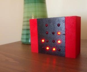 Simple Binary Clock Using Attiny85