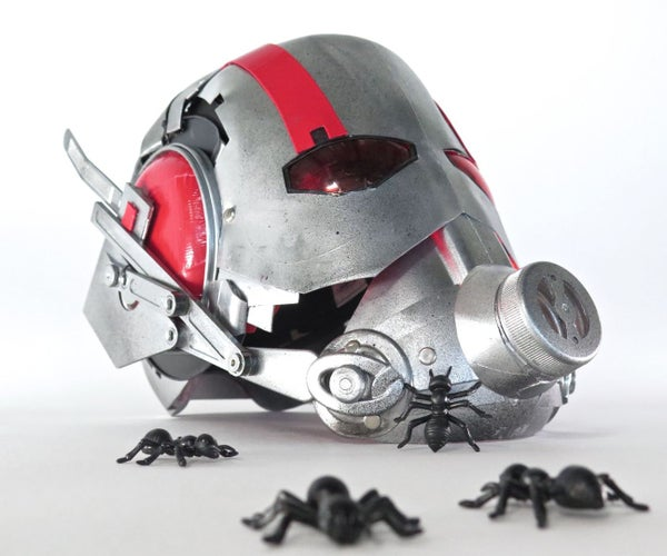 Upcycled Ant Man Helmet