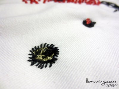 Sew Hello Kitty's Nose