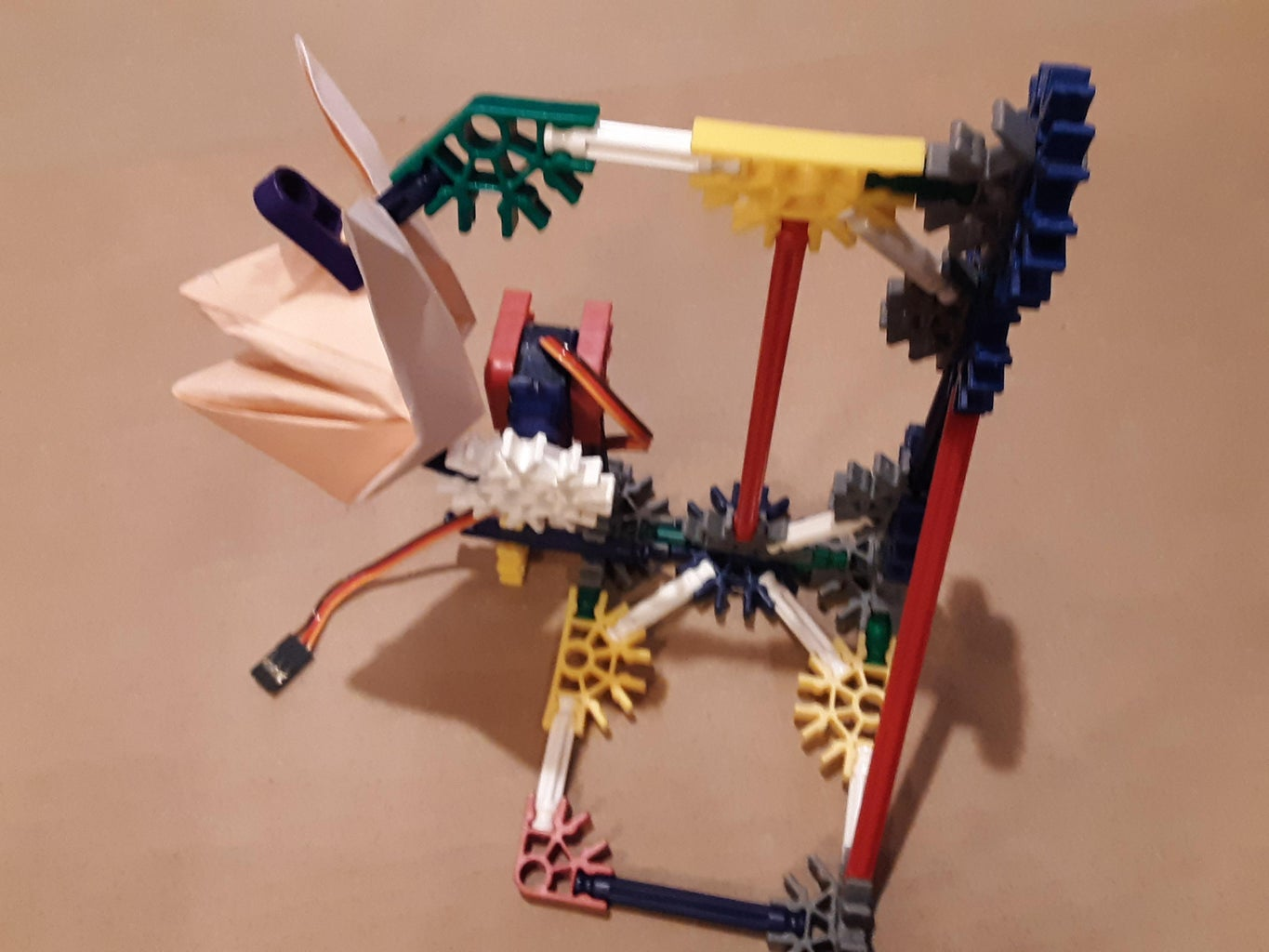 Origami Fox Robot (a RTPlayground2 Project)