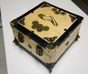 Steampunk Tool-Box for the Engineering Guy