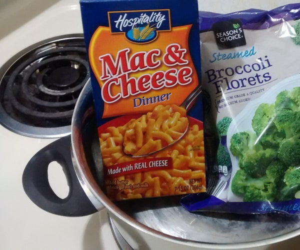 Broccoli, Macaroni, and Cheese