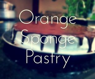 ORANGE Sponge Cake Pastry