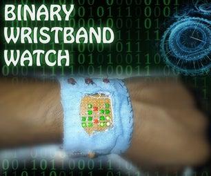 Binary Wrist-Band Watch