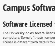 How to Download Free Software As an ISU Student (Microsoft, Adobe, and Security Software