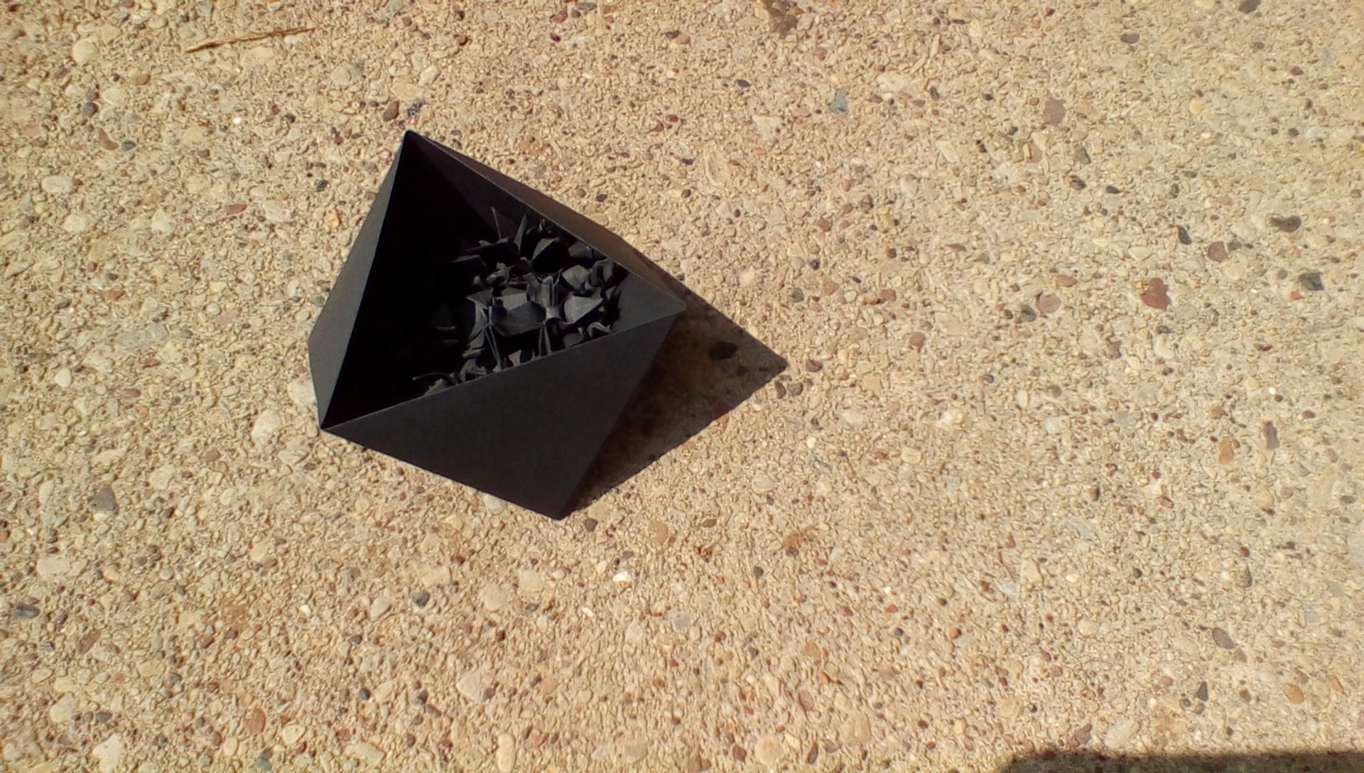 Triangular Modular Origami Box