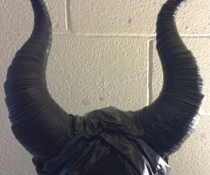 Maleficent Headpiece Using Cardstock