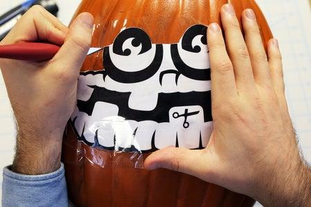 Carefully Cut Out Your Wubbox-o-lantern!