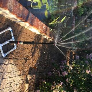 Simple Garden Sprinkler Out of Inground Popup Sprinklers