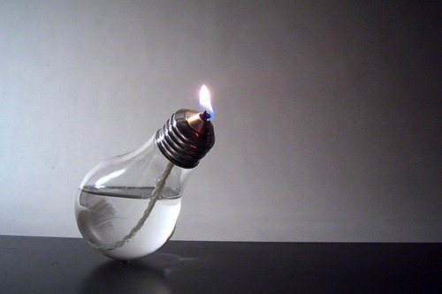 How to make an oil lamp
