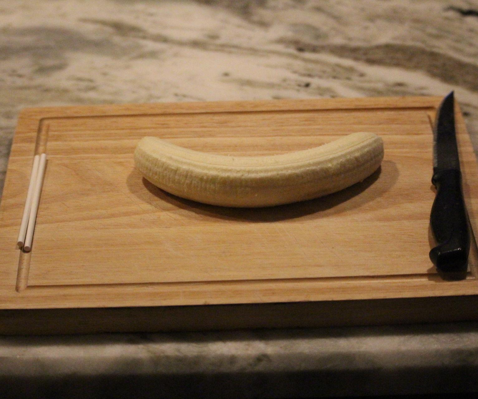 Easy Frozen Banana Pops