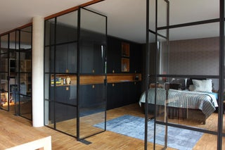 Steel And Glass Partition Wall 7 Steps With Pictures Instructables