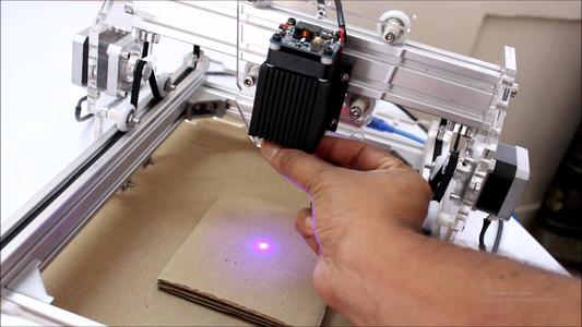 Focusing of Laser