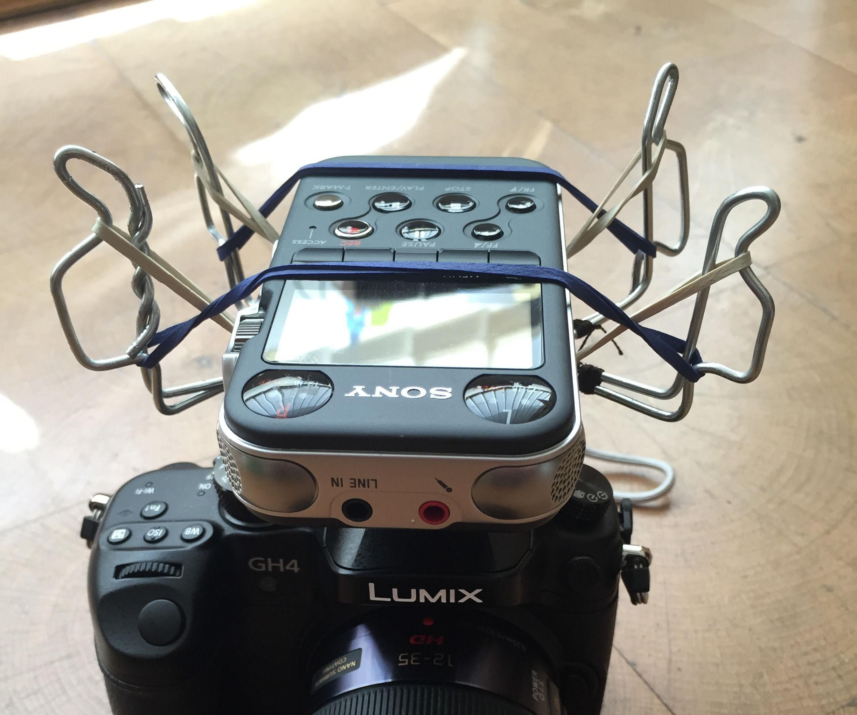 Shockmount for Mobile Audio Recorder