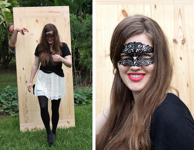 Masquerade Mask DIY