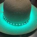 Arduino Buzzer/Light Temperature Alert Hat Prototype