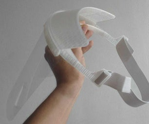 How to Make a Liftable 3D Printed Face Shield