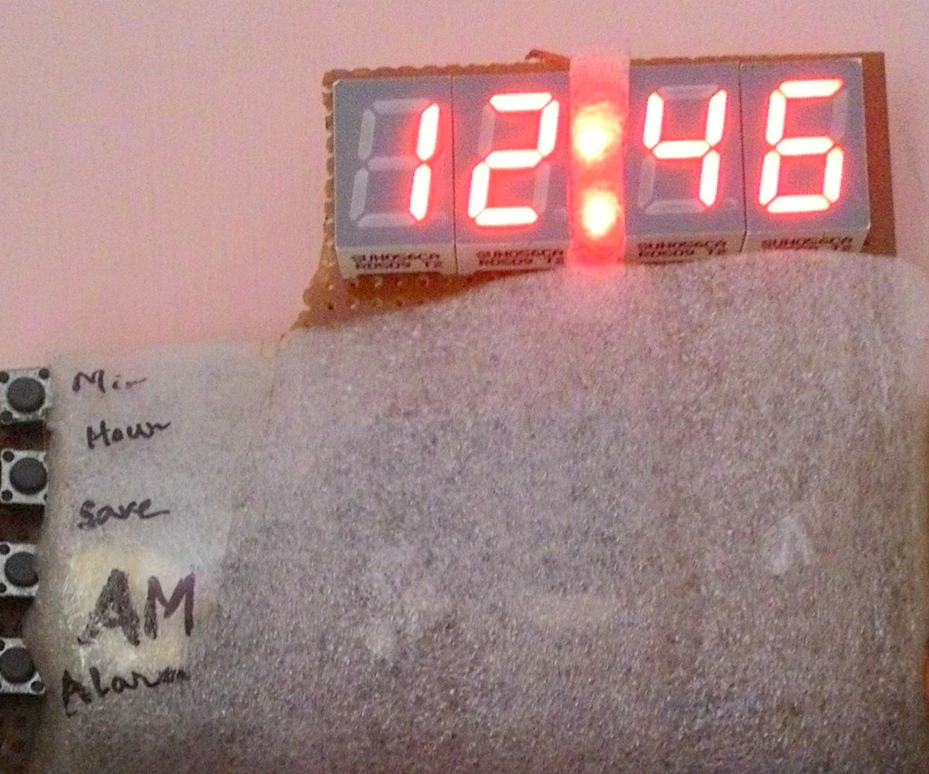 DIY Digital Clock Using Microcontroller (AT89S52 Without RTC Circuit)