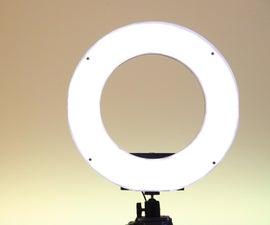 DIY LED工作室戒指灯