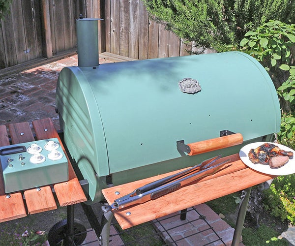 Nadine : the Tweeting Grill