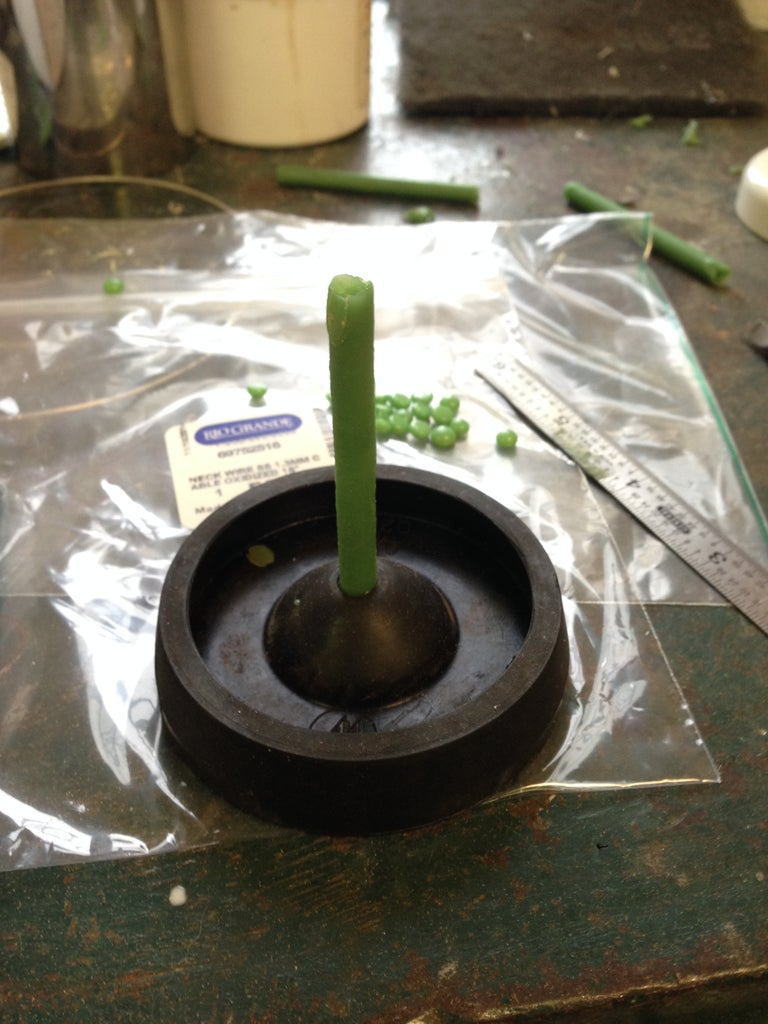 Step 3: Wax Tree