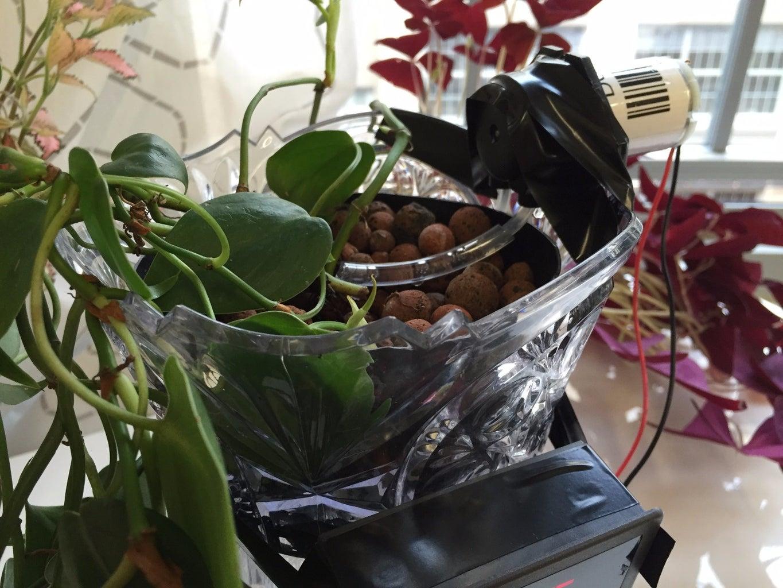 Ta Da!  Your New Hydroponic Planter!