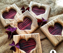 Valentine's Day Heart Frame