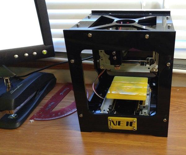 NEJE 300mW Laser Engraver (Under $100)