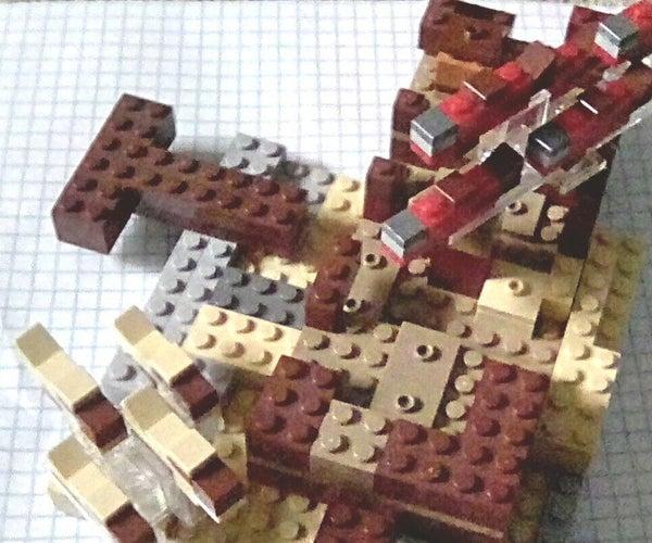 Lego Minecraft Fish