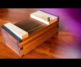 Live Edge Dovetailed Japanese Toolbox