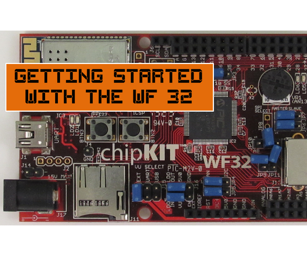 Getting Started With the WF32!