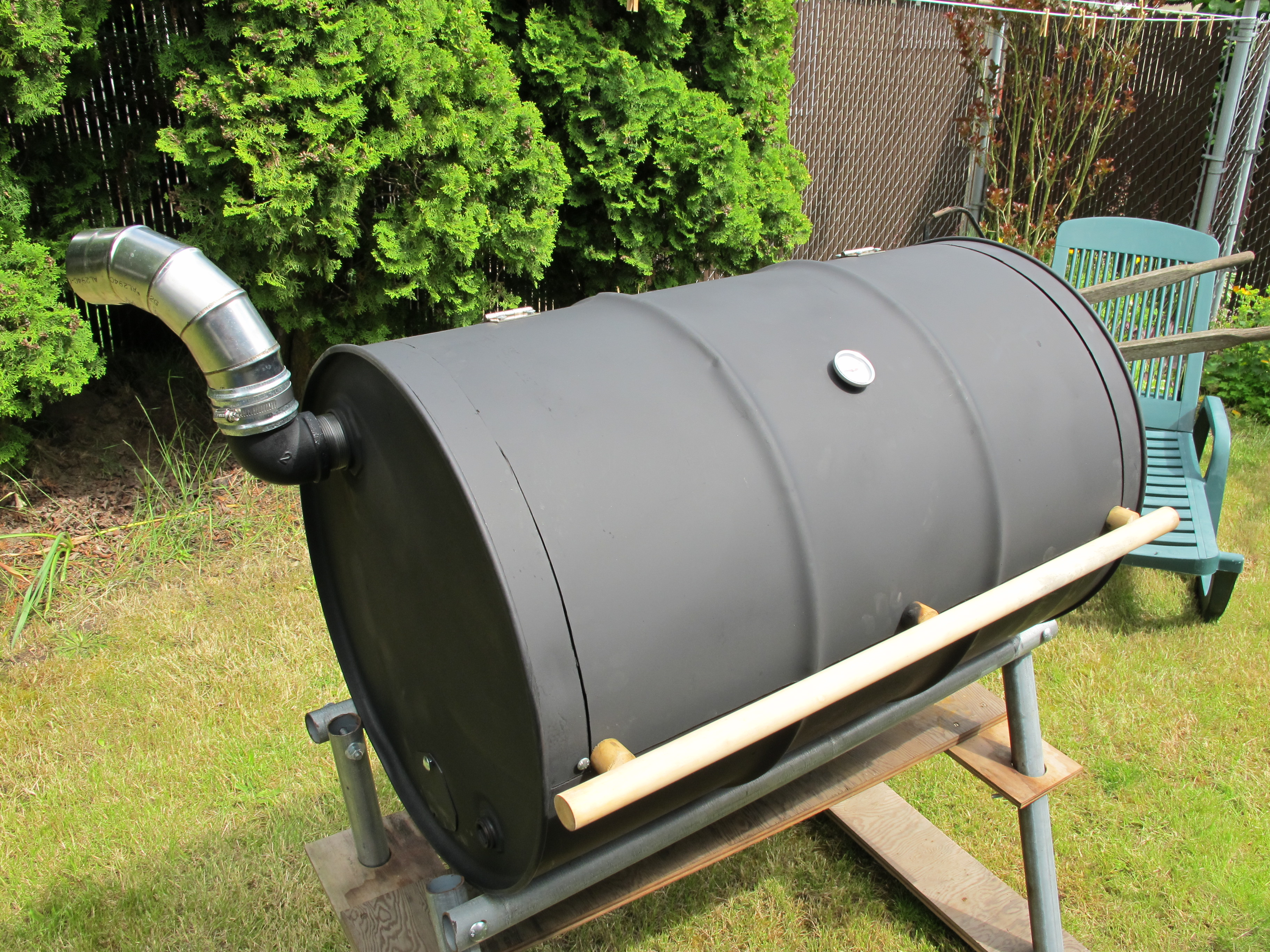 How to Build Your Own BBQ Barrel