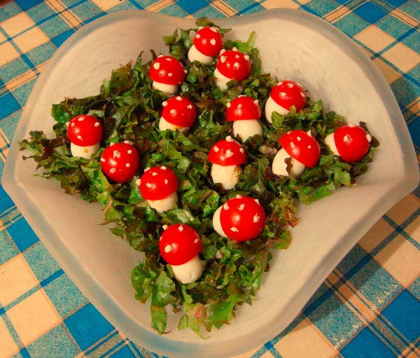 Enchanted Mushrooms Salad