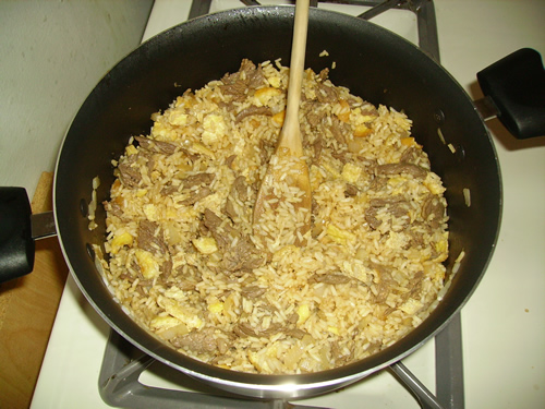 (Insert Meat Here) Fried Rice