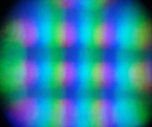 Computer Screen Under a Microscope!
