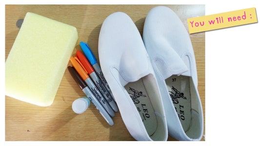 DIY Sharpie Shoes!